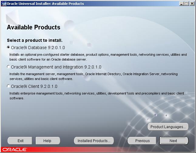 Install Oracle 9i on Windows 2003 Server